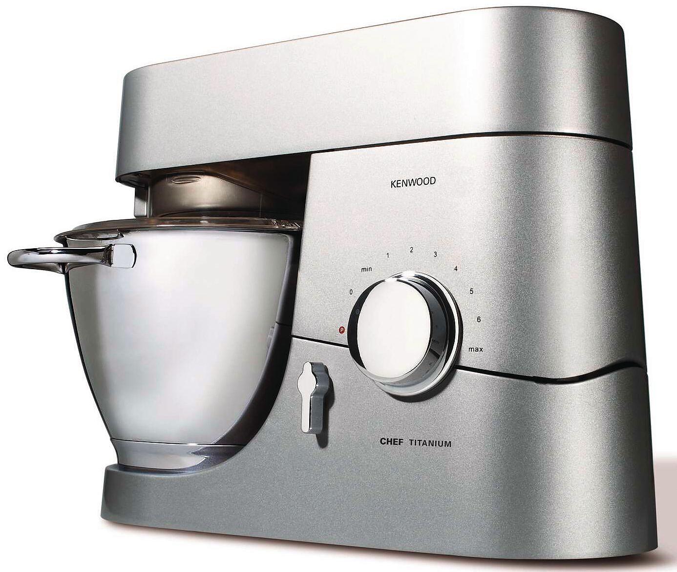 Recensione Kenwood KMC010 Chef Titanium Kitchen Machine ...